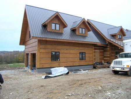 Scott Hay Handcrafted Log Homes Eugenia Ontario Custom